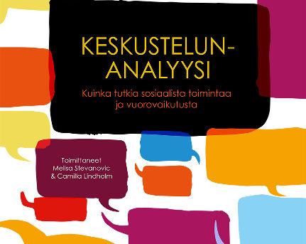 Keskustelunanalyysi: Kirjan julkistamistilaisuus